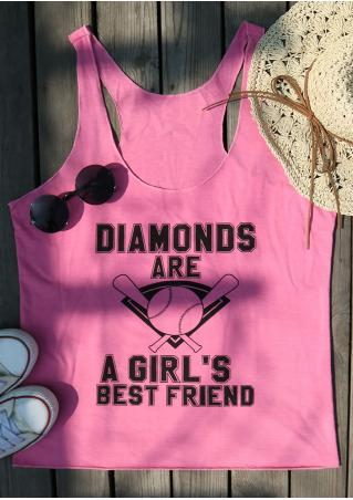 Diamonds Are A Girl's Best Friend Tank
