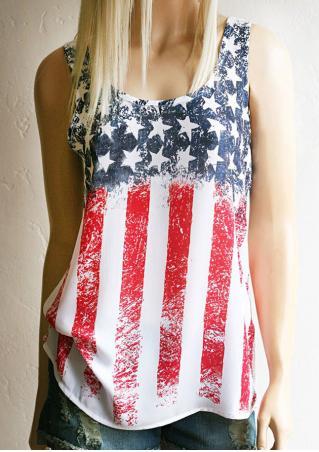 American Flag Tank American