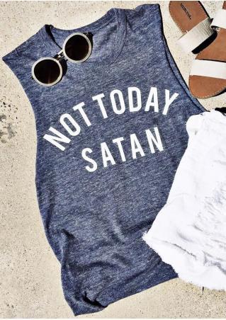 Not Today Satan Tank