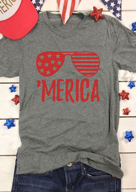 'Merica Glasses T-Shirt thumbnail