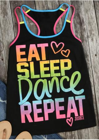 Eat Sleep Dance Repeat Tank