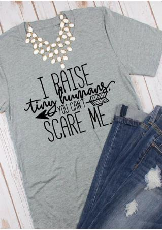 You Can't Scare Me T-Shirt without Necklace