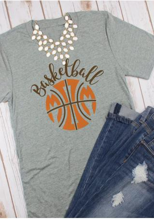 Basketball T-Shirt without Necklace