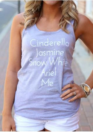 Cinderella Jasmine Snow White Ariel Me Tank