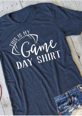 This Is My Game Day Shirt T-Shirt