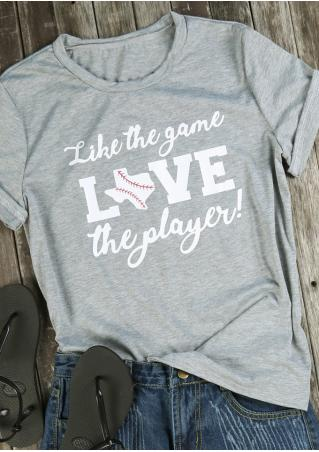 Like The Game Love The Player T-Shirt