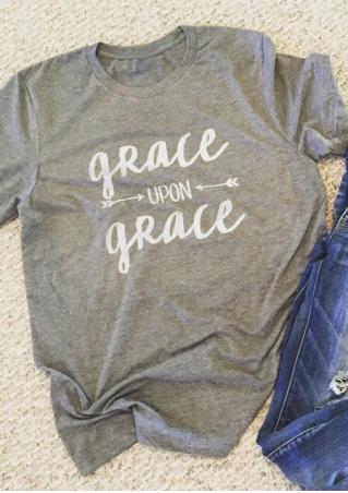 Grace Upon Grace Arrow T-Shirt