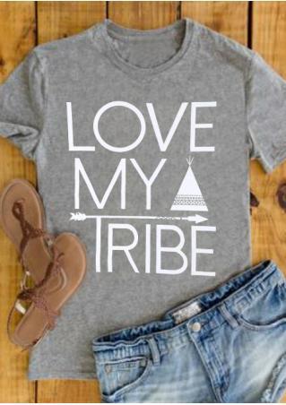Love My Tribe Arrow T-Shirt