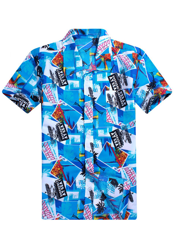 Image of Coconut Tree Printed Shirt