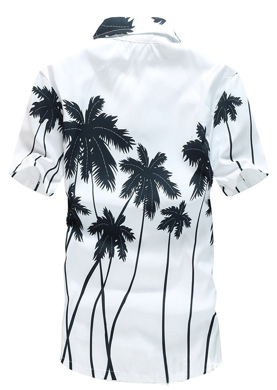 Image of Coconut Tree Short Sleeve Shirt