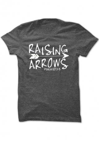 Raising Arrows Psalm T-Shirt