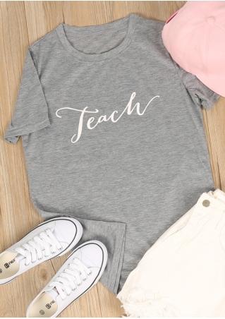 Teach Short Sleeve T-Shirt
