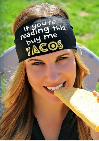 If You're Reading This Buy Me Tacos Headband