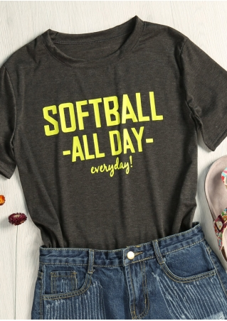Softball All Day Everyday T-Shirt