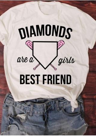 Diamonds Are A Girls Best Friend T-Shirt