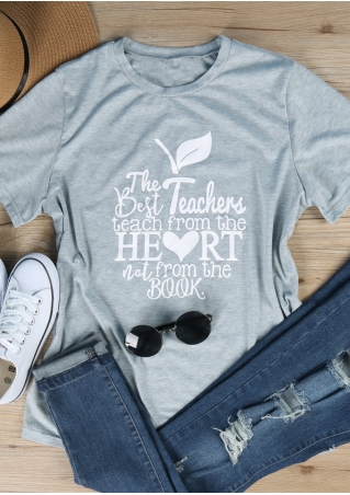 The Best Teachers Short Sleeve T-Shirt