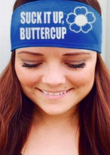 Suck It Up Buttercup Headband Fairyseason