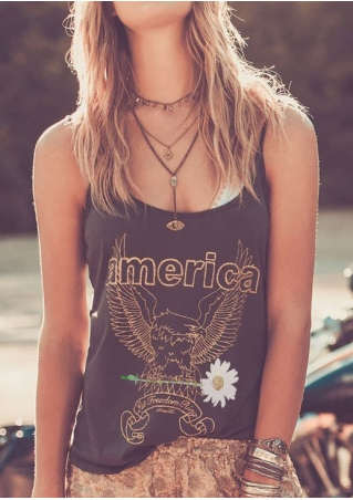 America Eagle Camisole without Necklace America