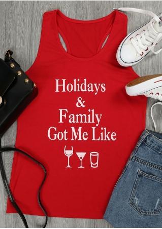 Holidays & Family Got Me Like Tank