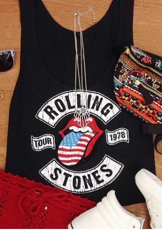 Rolling Stones Tour 1978 Tank
