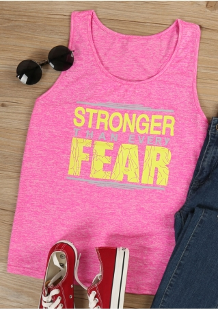 Stronger Than Every Fear Tank
