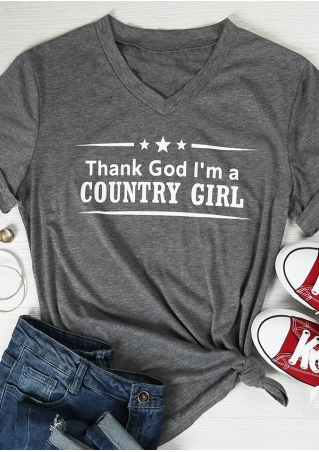 Thank God I'm A Country Girl T-Shirt