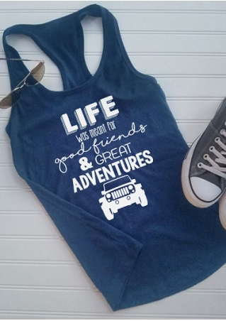 Life Was Meant For Good Friends Tank