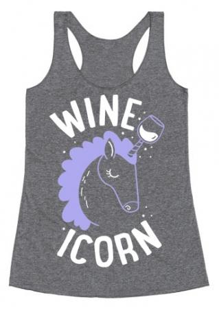 Wineicorn Unicorn O-Neck Tank