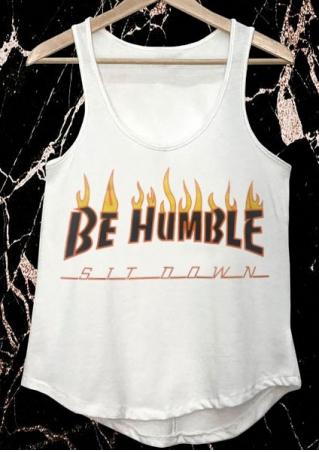 Be Humble Sit Down Tank