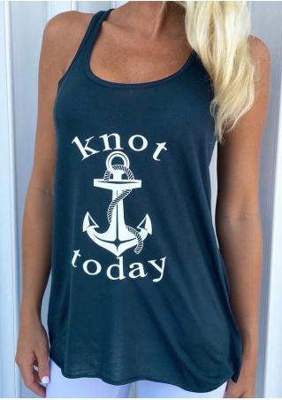 Knot Today Anchor O-Neck Tank