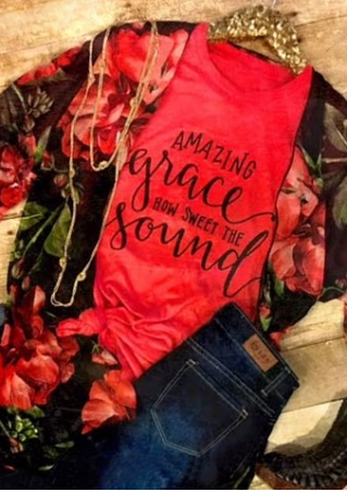 Amazing Grace How Sweet The Sound T-Shirt