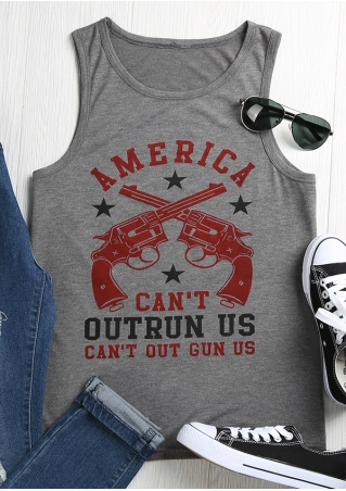 America Can't Out Run Us Tank