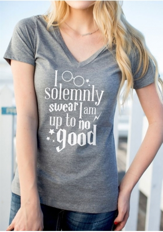 I Solemnly Swear T-Shirt without Necklace