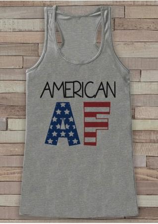 American AF O-Neck Tank American