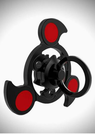 Color Block Finger Fidget Spinner