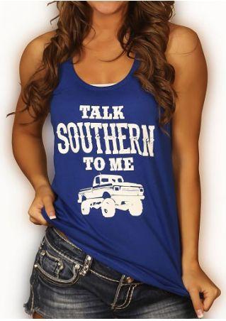 Talk Southern To Me Tank