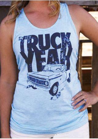 Truck Yeah O-Neck Tank