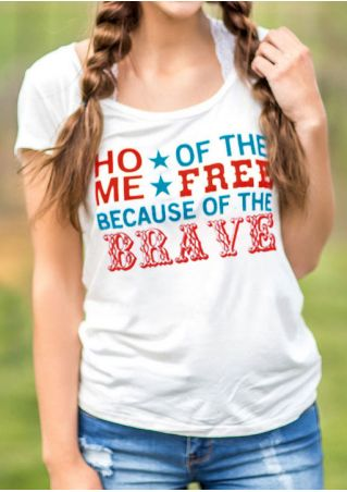 Home Of The Free Star T-Shirt