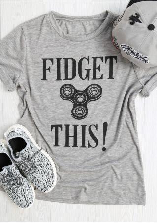 Fidget This Finger Fidget Spinner T-Shirt