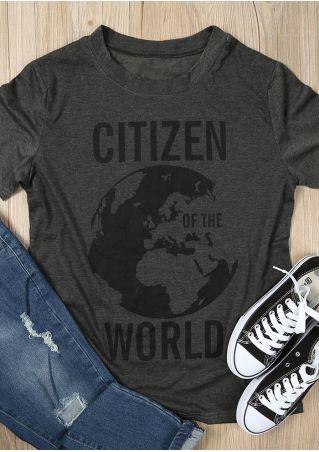 Citizen Of The World Short Sleeve T-Shirt