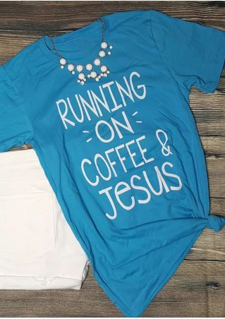 Running On Coffee & Jesus T-Shirt