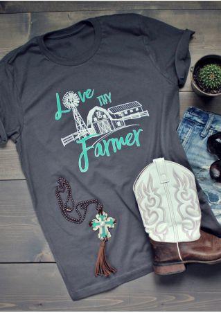 Love Thy Farmer O-Neck T-Shirt