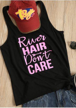 River Hair Don't Care Arrow Tank