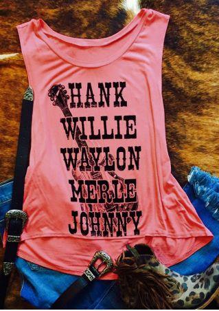 Hank Willie Waylon Merle Johnny Tank