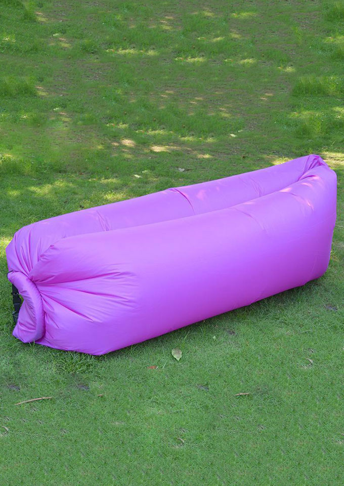 Air Sleeping Bag : Inflatable lazy air sleeping bag beach sofa fairyseason
