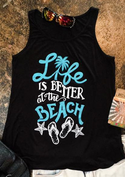 Life Is Better At The Beach Tank Fairyseason