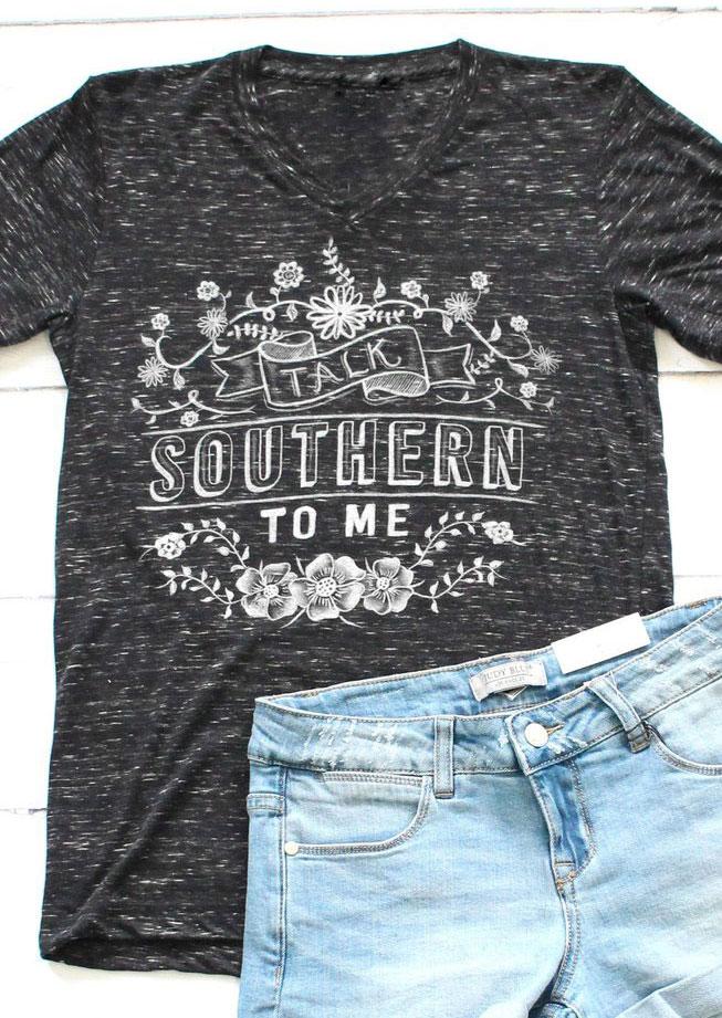 Talk southern to me t shirt fairyseason for Talk texan to me shirt