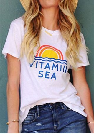 Vitamin Sea T-Shirt without Necklace