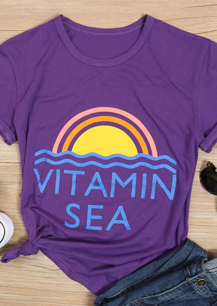 Vitamin Sea T Shirt Without Necklace Fairyseason