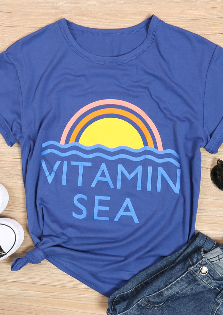 Vitamin Sea T Shirt Without Necklace Fairyseason